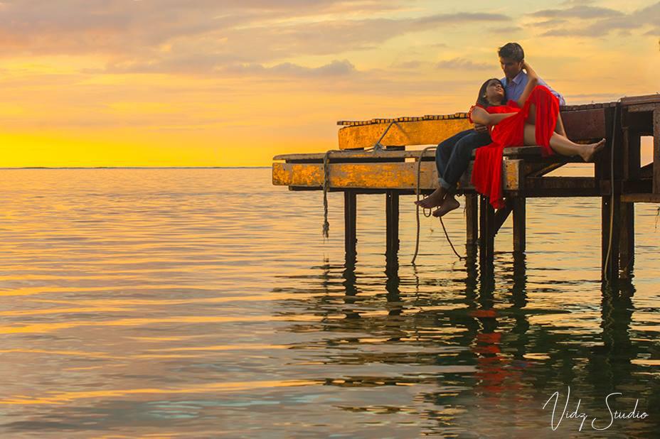 Couple Sunset Flic en Flac